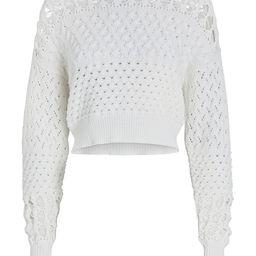 Chelsea Crewneck Cotton-Blend Sweater | INTERMIX