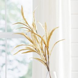 Leafy Corn Husk Stems,  Set of Three | Grandin Road | Grandin Road