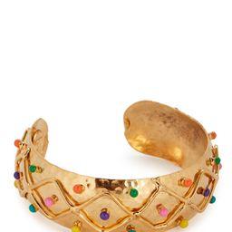 Enamel Dots Cuff Bracelet | INTERMIX