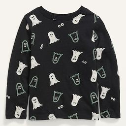 Unisex Long-Sleeve Ghost-Print T-Shirt for Toddler   Old Navy (US)
