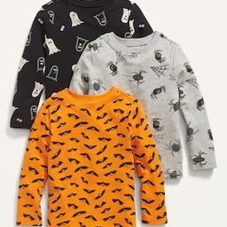 3-Pack Long-Sleeve Halloween-Print T-Shirt for Toddler Boys   Old Navy (US)