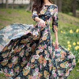 WOODSTOCK MAXI DRESS | Yumi Kim