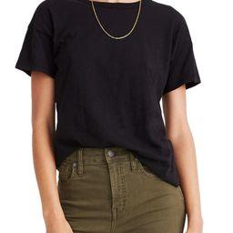 Whisper Cotton Crewneck T-Shirt   Nordstrom