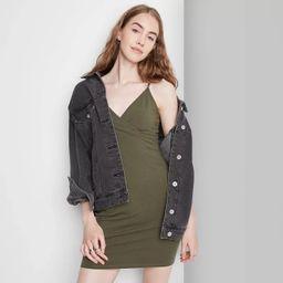 Women's Sleeveless Knit Bodycon Dress - Wild Fable™   Target