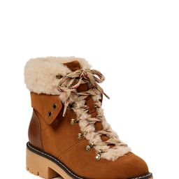Time and Tru Women's Cozy Hiker Boot (Wide Width Available) | Walmart (US)
