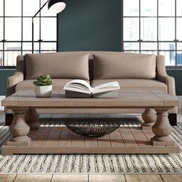 Glenrock Floor Shelf Coffee Table with Storage | Wayfair North America