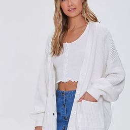 Balloon-Sleeve Cardigan Sweater | Forever 21 (US)