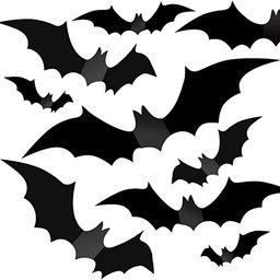 Halloween Decorations - Halloween Party Indoor Outdoor Decor Supplies , 56 PCS Reusable PVC 3D De... | Amazon (US)