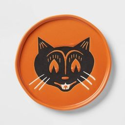 """6"""" Stoneware Cat Face Appetizer Plate - Threshold™ 