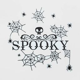 "Spiders and Webs Halloween Wall Art (27.75""x9.75"") - Hyde & EEK! Boutique™ | Target"