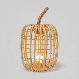 Tall Harvest Chipwood Pumpkin Lantern Decorative Sculpture - Hyde & EEK! Boutique™ | Target