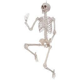 Way to Celebrate Halloween Hanging Posable Skeleton Decoration, 5' - Walmart.com   Walmart (US)