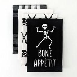 4ct Dish Towel Bone Appetit/Bewitchin' in the Kitchen - Bullseye's Playground™ | Target