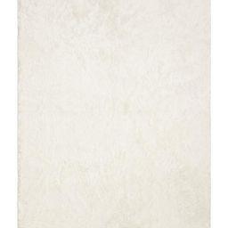 Polar White Plush Rug   Ruggable