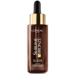 L'Oreal Paris Sublime Bronze Self-Tanning Facial Drops, Fragrance-Free, 1 fl. oz. - Walmart.com   Walmart (US)