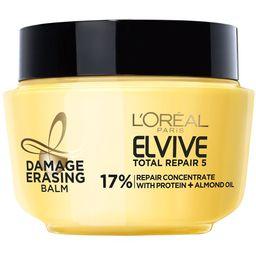 L'Oreal Paris Elvive Total Repair 5 Damage Erasing Balm Rinse Treatment, 8.5 fl. oz. - Walmart.co...   Walmart (US)