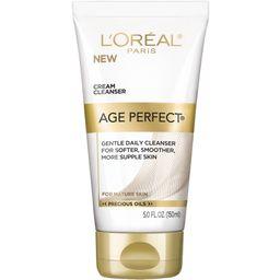 L'Oreal Paris Age Perfect Cream Cleanser, 5 fl. oz. - Walmart.com   Walmart (US)