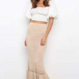 Alannah Skirt - Beige | Petal & Pup (US)