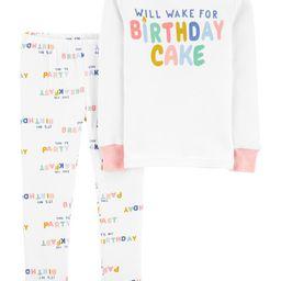 2-Piece Birthday 100% Snug Fit Cotton PJs   Carter's