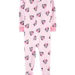 1-Piece Minnie Mouse 100% Snug Fit Cotton Footie PJs   Carter's