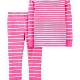 2-Piece Striped Snug Fit Cotton PJs   Carter's