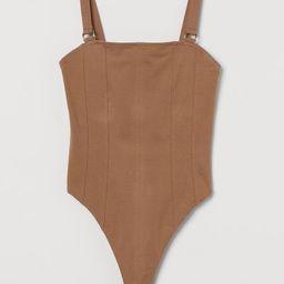 Thong Bodysuit   H&M (US)
