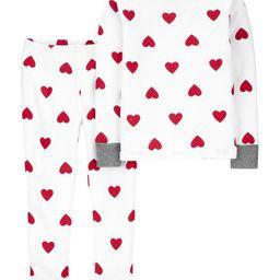 2-Piece Heart 100% Snug Fit Cotton PJs   Carter's