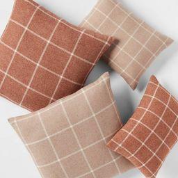Windowpane Plaid Throw Pillow - Threshold™   Target