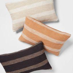 Woven Linework Lumbar Throw Pillow - Threshold™️   Target