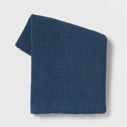 Solid Chenille Knit Throw Blanket - Threshold™ | Target