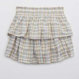 Aerie Rock 'n' Ruffle Plaid Skirt | American Eagle Outfitters (US & CA)