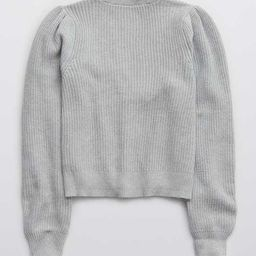Aerie Button Cropped Cardigan | American Eagle Outfitters (US & CA)