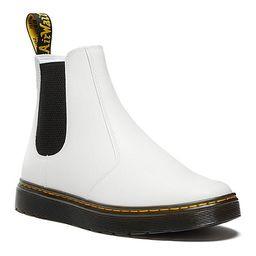 Dr.martens Womens Dorian Chelsea Boot - White | Rack Room Shoes