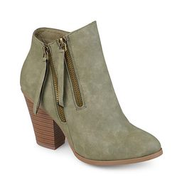 Journee Collection Womens Vally Bootie - Olive | Rack Room Shoes