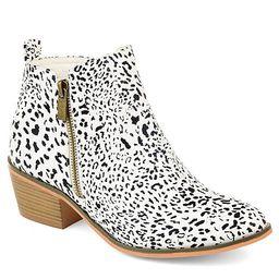 Journee Collection Womens Rebel Bootie - Animal | Rack Room Shoes