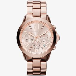 Oversized Rose Gold-Tone Watch   Michael Kors (US & CA)