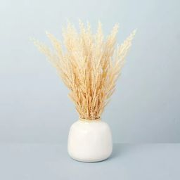 """17.5"""" Faux Wheat Grass Foliage Potted Plant - Hearth & Hand™ with Magnolia   Target"""