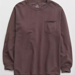 Aerie The Sweat Everyday Crew Neck Sweatshirt | American Eagle Outfitters (US & CA)