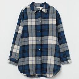 Oversized Shirt Jacket  $34.99 | H&M (US)