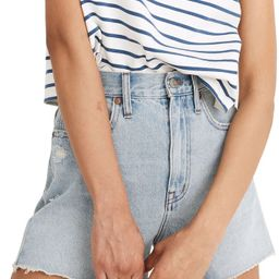 The Ripped Momjean Recycled Denim Shorts | Nordstrom | Nordstrom