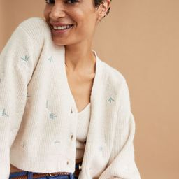 Knit Cardigan with Embroidery  $34.99   H&M (US)