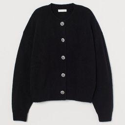 Rhinestone-button Cardigan  $34.99     $27.99$34.99   H&M (US)
