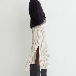 Side-slit Satin Skirt  $24.99     $19.99$24.99   H&M (US)