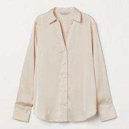 V-neck Blouse  $17.99   H&M (US)