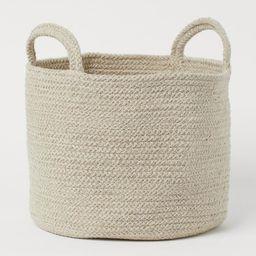 Cotton Storage Basket  $17.99 | H&M (US)