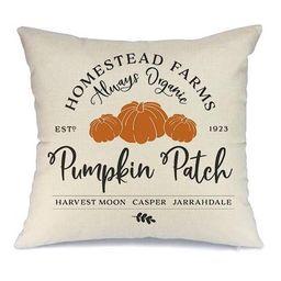 Fall Pillow Cover Decorations Pumpkin Patch Throw Pillow for Fall Farmhouse Fall Decorations Deco... | Walmart (US)