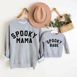 Mommy and Me Halloween Sweatshirts Matching Halloween Shirts   Etsy   Etsy (US)