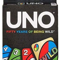 Mattel UNO 50th Anniversary Edition | Amazon (US)