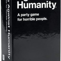 Cards Against Humanity Card Game Black | Amazon (US)