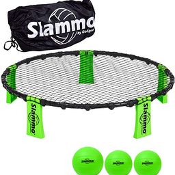 GoSports Slammo Game Set (Includes 3 Balls, Carrying Case and Rules) - Outdoor Lawn, Beach & Tail... | Amazon (US)